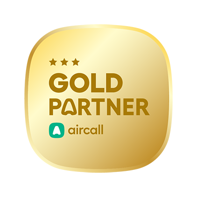 Aircall Gold Partner