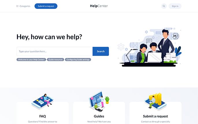 Stockholm Zendesk Help Center theme