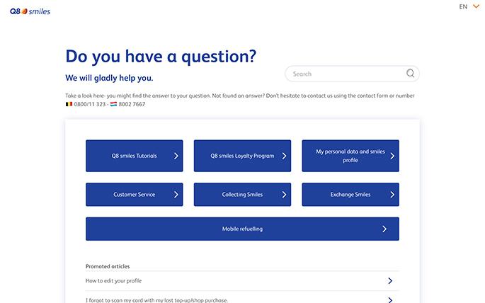 Custom Zendesk Help Center theme - Q8